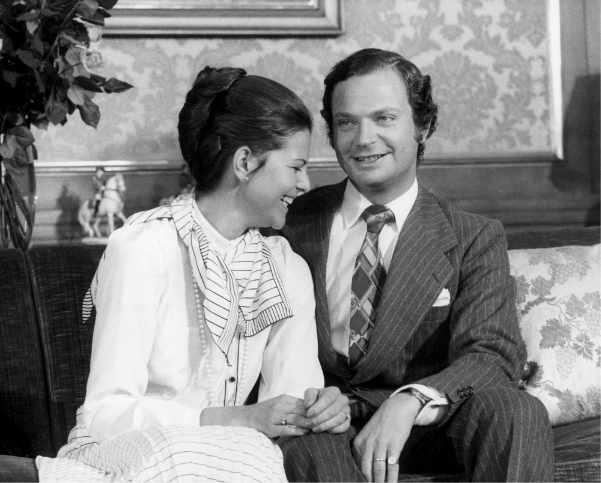 Schwedisches Paar im Heimfilm 1999